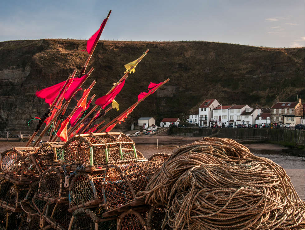 Low Light on Staithes