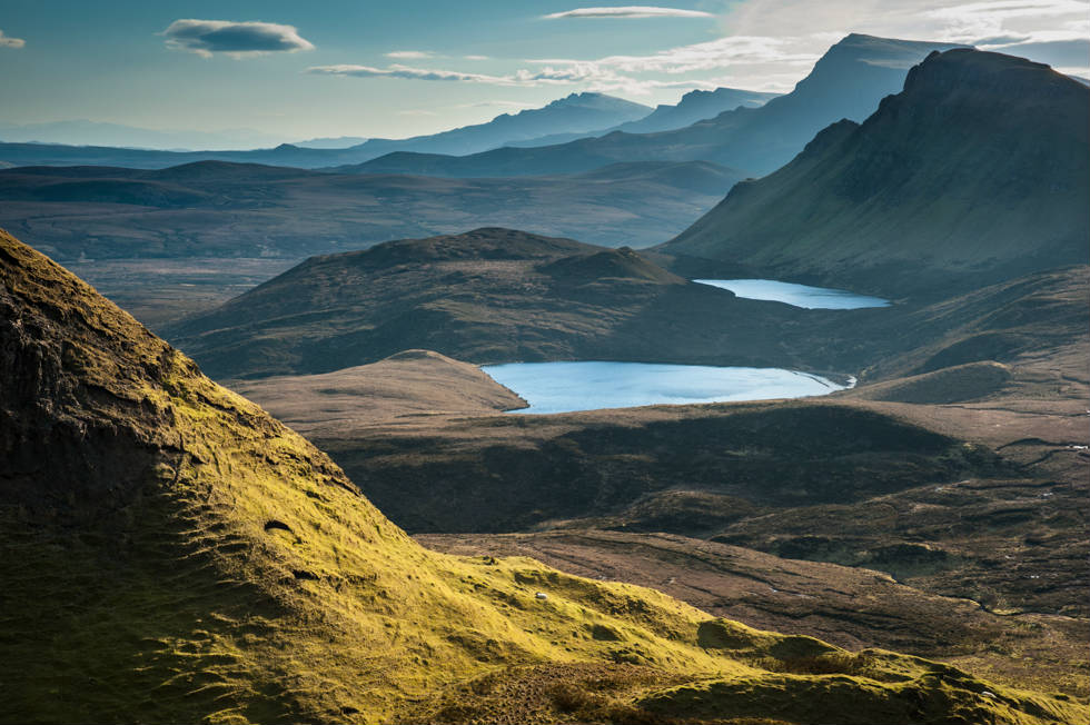 From the Quiraing Skye